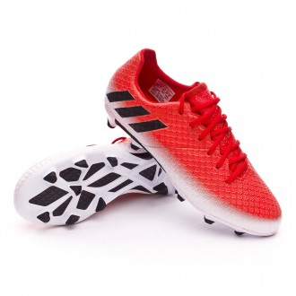 Kids Messi 16.1 FG  Red-Core black-White