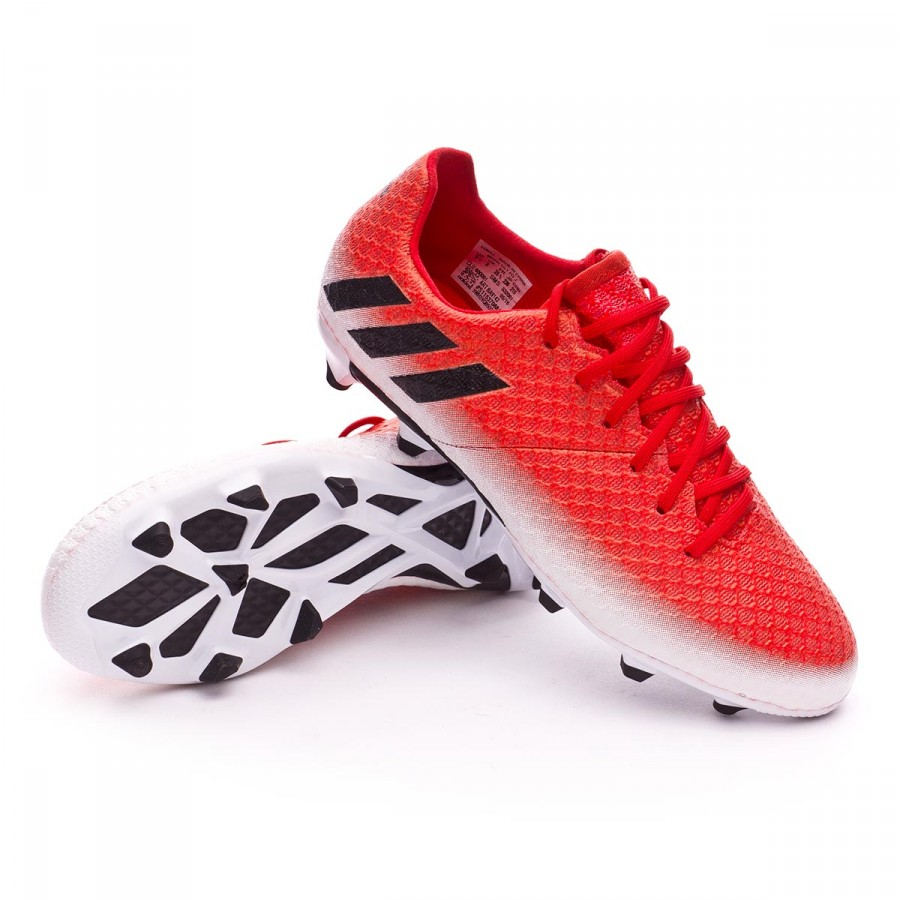 eae716e82 Football Boots adidas Kids Messi 16.1 FG Red-Core black-White ...