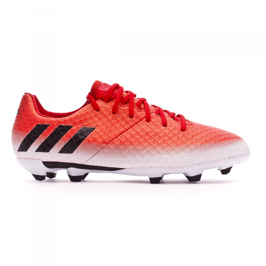 af874ab66 Football Boots adidas Kids Messi 16.1 FG Red-Core black-White - Football  store Fútbol Emotion