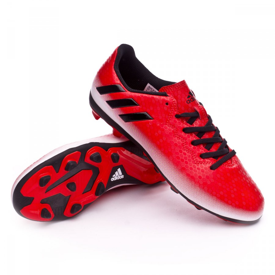 Boot adidas Messi 16.4 FxG kids Red-Core black-White - Football ... e530fe57663