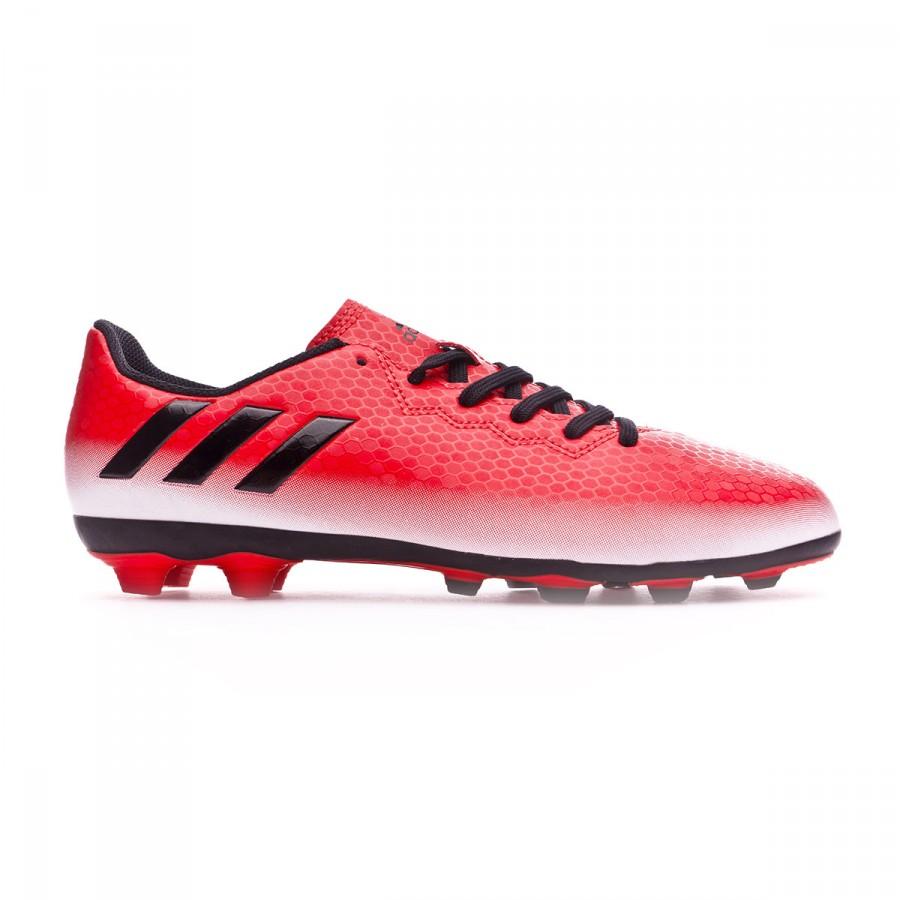 8ba1b57d39195 Zapatos de fútbol adidas Messi 16.4 FxG Niño Red-Core black-White - Tienda  de fútbol Fútbol Emotion
