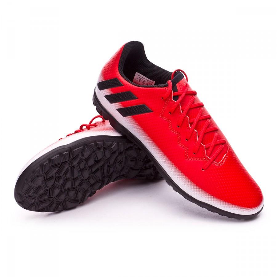 half off 27115 01c58 Zapatos de fútbol adidas Messi 16.3 Turf Niño Red-Core black-White - Tienda  de fútbol Fútbol Emotion