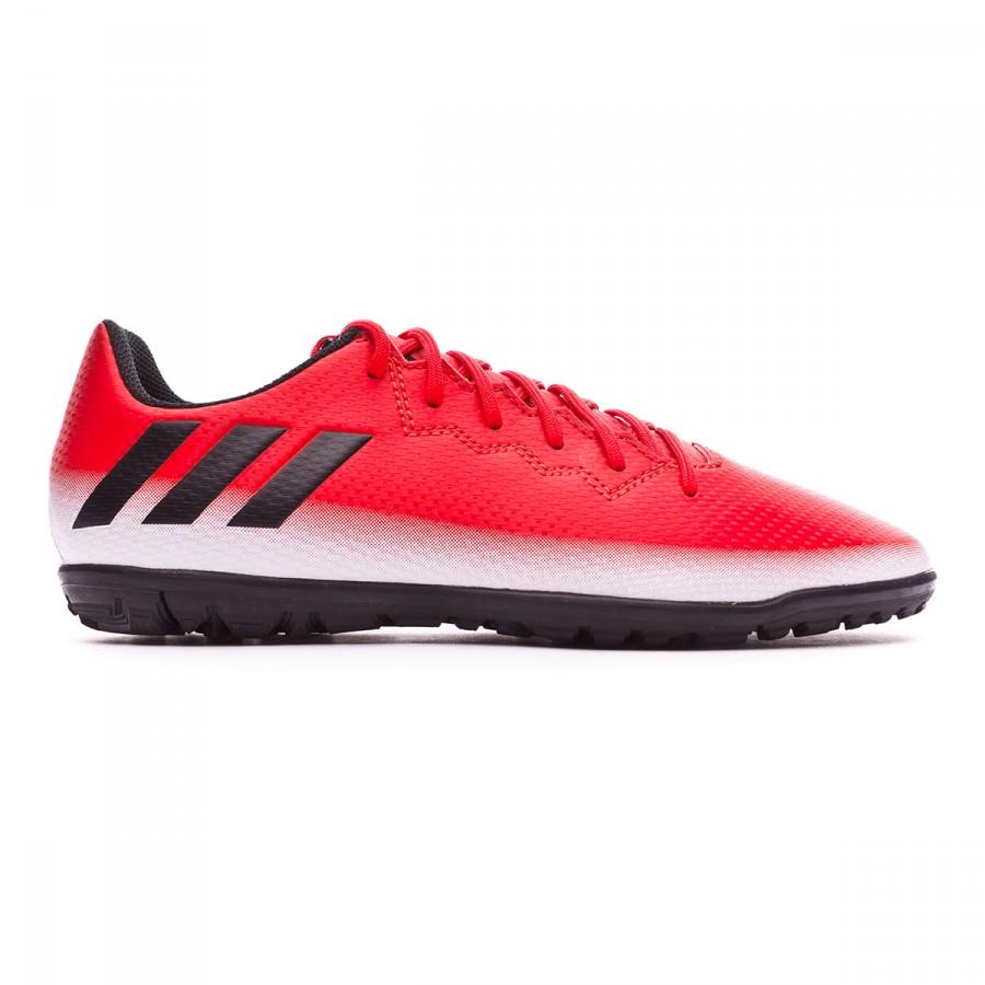 65994f855c Zapatos de fútbol adidas Messi 16.3 Turf Niño Red-Core black-White - Tienda  de fútbol Fútbol Emotion