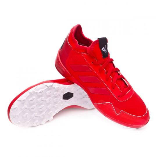 Zapatilla de fútbol sala  adidas jr Ace Tango 17.2 Turf Red-Scarlet-White