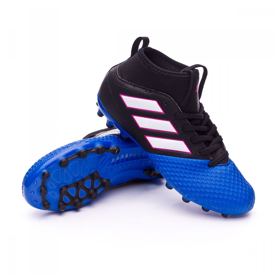 2e61587ccc93 Football Boots adidas Jr Ace 17.3 AG Core black-White-Blue ...