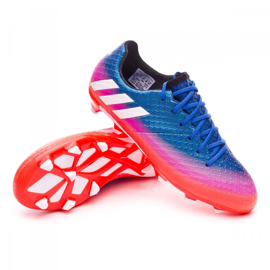 415e332ee adidas Kids Messi 16.1 FG Football Boots. Blue-White-Solar orange ...