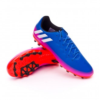 Bota  adidas Messi 16.3 AG Niño Blue-White-Solar orange