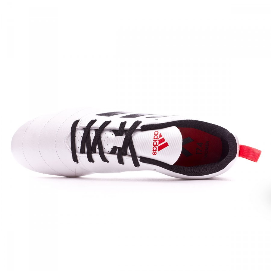 c1fb1e05f8a Football Boots adidas Woman Ace 17.4 FG White-Core black-Core red - Tienda  de fútbol Fútbol Emotion