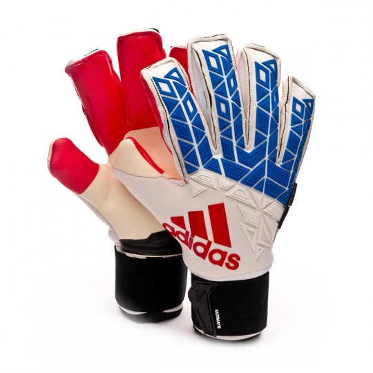 Luvas  adidas Ace Trans Ultimate White-Blue-Red