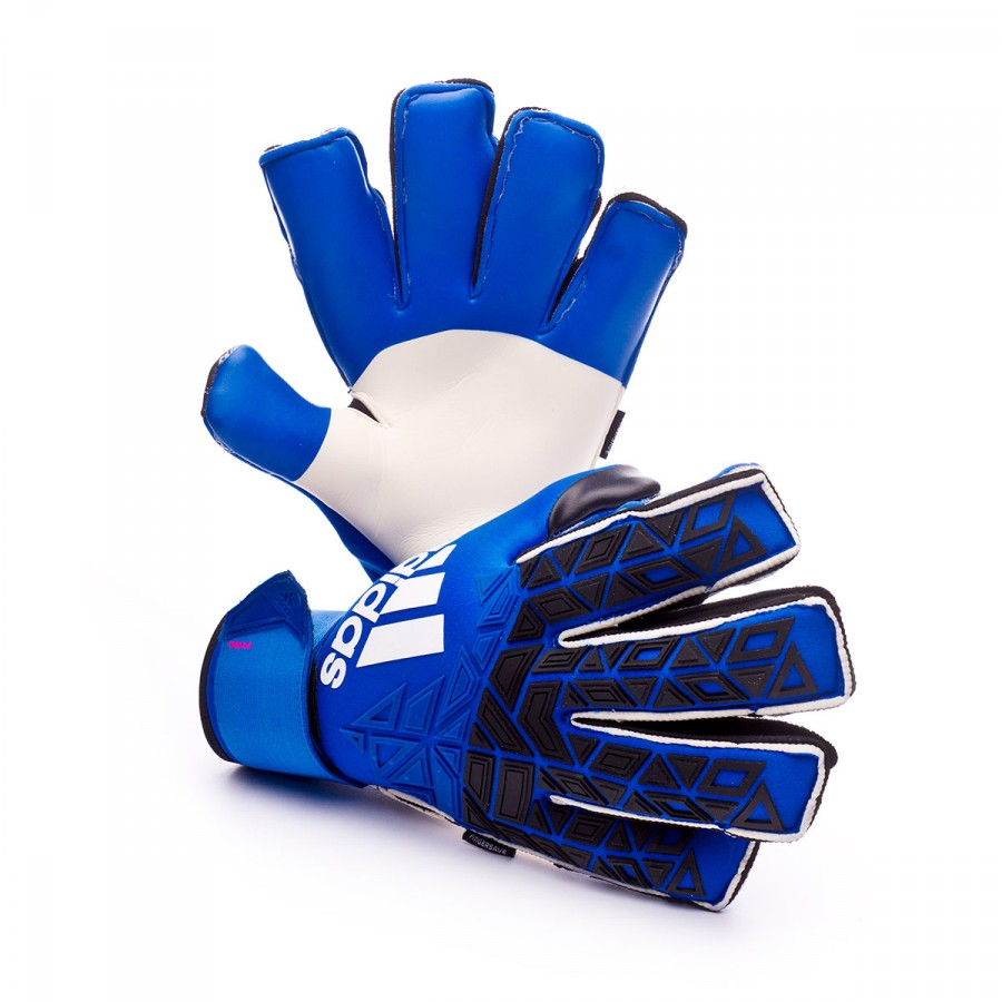 0aa44184 Guante Ace Trans Fingersave Pro Blue-Black-White