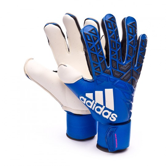Luvas  adidas Ace Half Negative Blue-Black-White