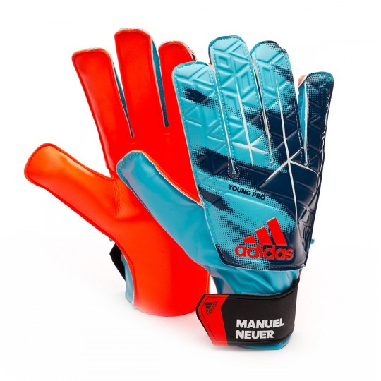Guante  adidas jr Ace Pro Manuel Neuer Cyan-Black-Red