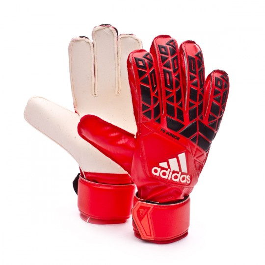 Luvas  adidas jr Ace Fingersave Red-Black-White