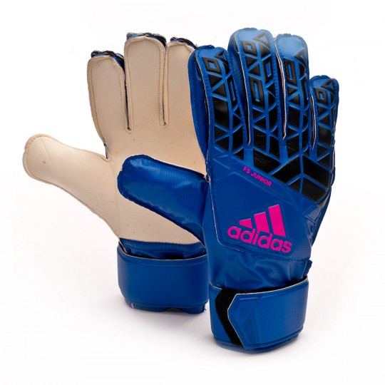Guante  adidas Jr Ace Fingersave Blue-Black