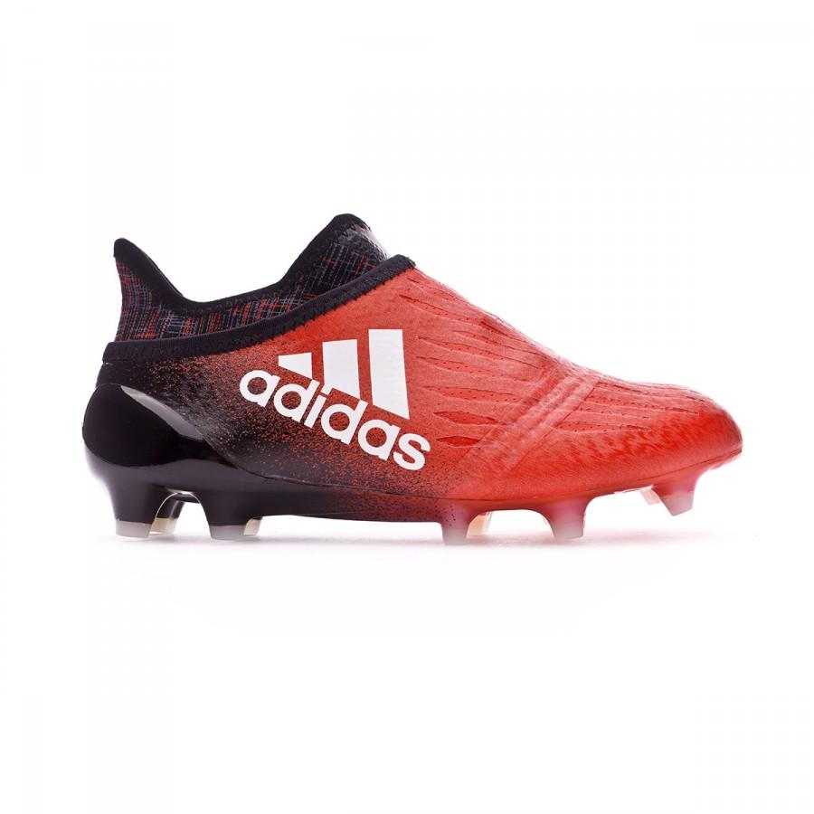 e2418dad4b Chuteira adidas Jr X 16+ Purechaos FG Vermelho-Branco - Loja de futebol  Fútbol Emotion