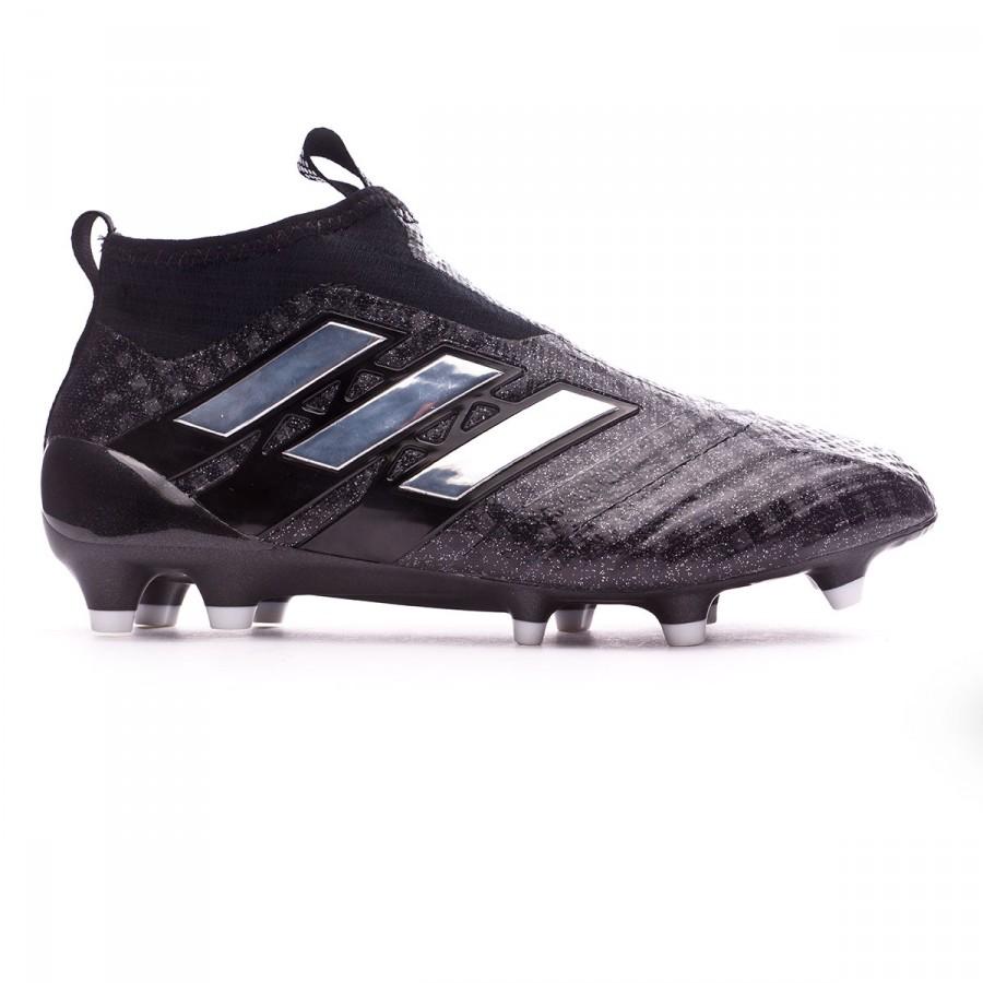 a7c08ef8eef62 Zapatos de fútbol adidas Ace 17+ Purecontrol FG Niño Core black-White-Core  black - Tienda de fútbol Fútbol Emotion