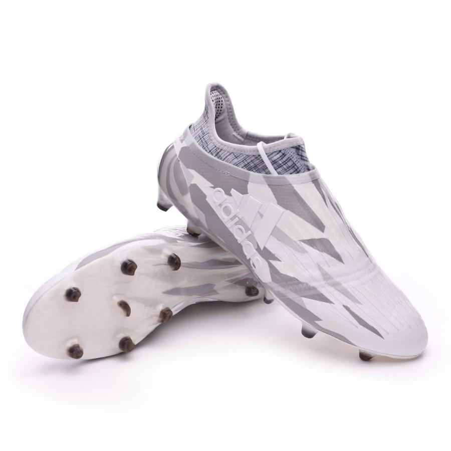 Boot adidas X 16+ Purechaos FG Clear grey-White-Core black ... d12307ddb4