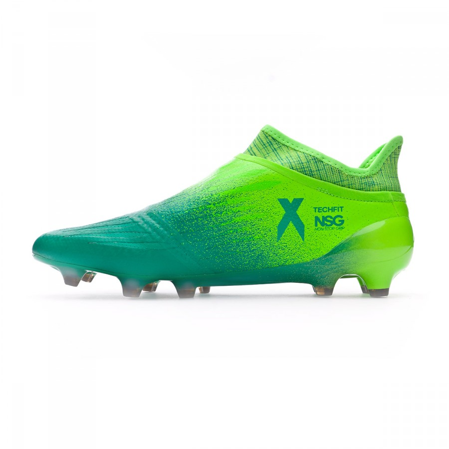 b8abb392dc1 Football Boots adidas X 16+ Purechaos FG Solar green-Black - Football store  Fútbol Emotion