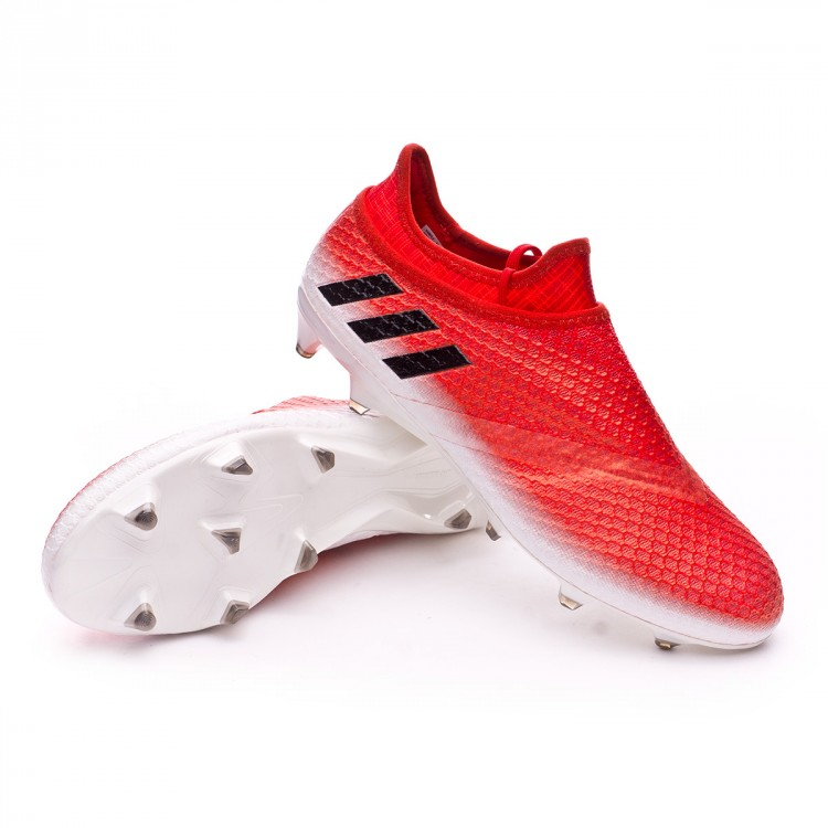 Bota Messi 16+ Pureagility FG Red White