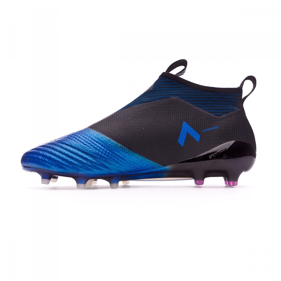 best authentic 86d43 0fc1d Boot adidas Ace 17+ Purecontrol FG Core black-White-Blue - Soloporteros es  ahora Fútbol Emotion
