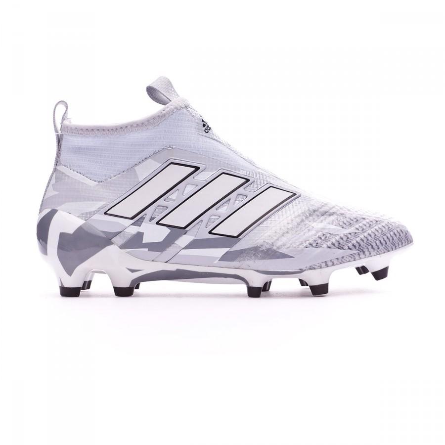 online retailer 76ddb 7b14f ... Bota Ace 17+ Purecontrol FG Niño Clear grey-White-Core black. CATEGORY