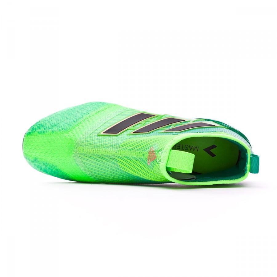 b53a8552ad6a7 Chuteira adidas Jr Ace 17+ Purecontrol FG Solar green-Core black-Core green  - Loja de futebol Fútbol Emotion