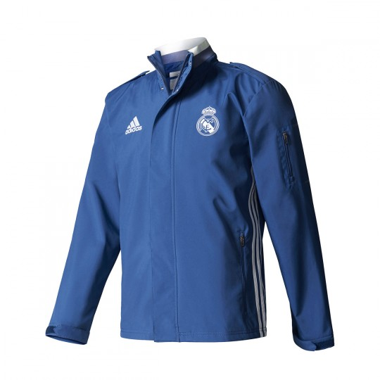 Chaqueta  adidas Real Madrid Pre-Match 2016-2017 Blue blast-White