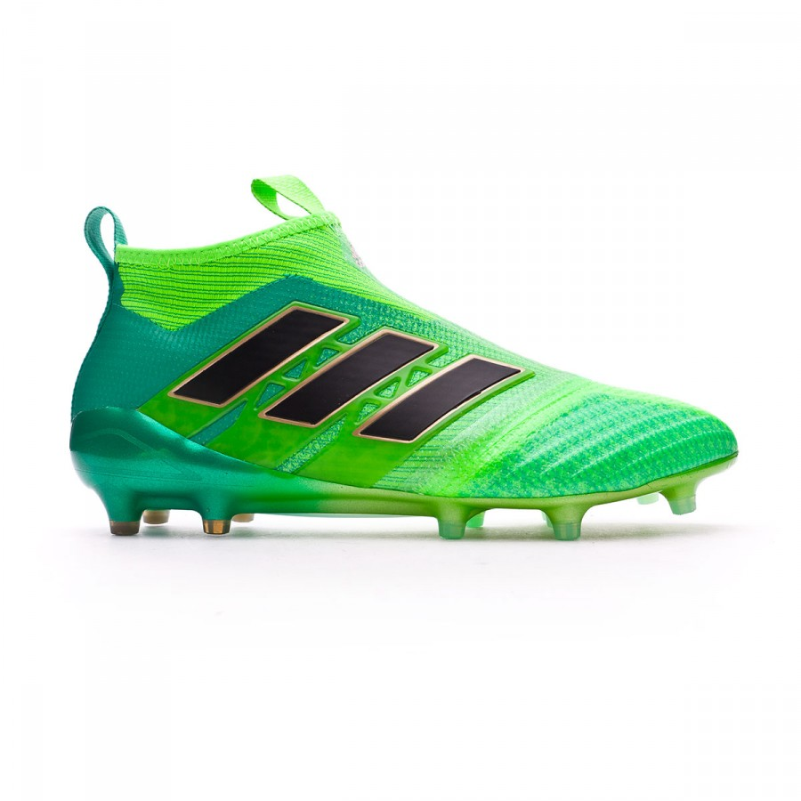 half off fed88 120fb Football Boots adidas Ace 17+ Purecontrol FG Solar green-Core black-Core  green - Tienda de fútbol Fútbol Emotion