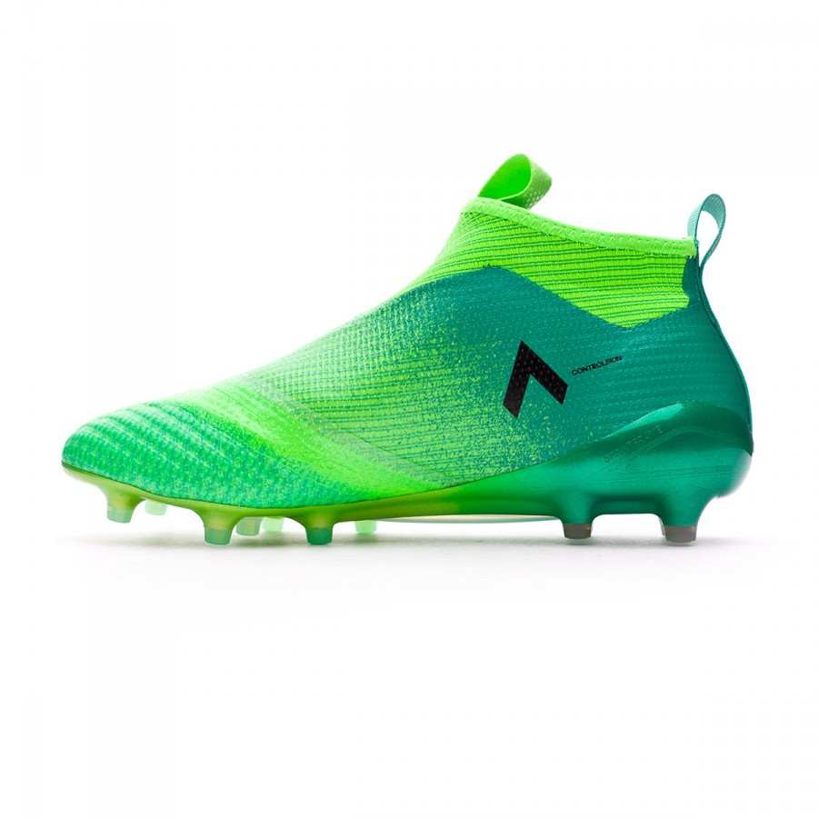 7a686259b709 Football Boots adidas Ace 17+ Purecontrol FG Solar green-Core black-Core  green - Tienda de fútbol Fútbol Emotion