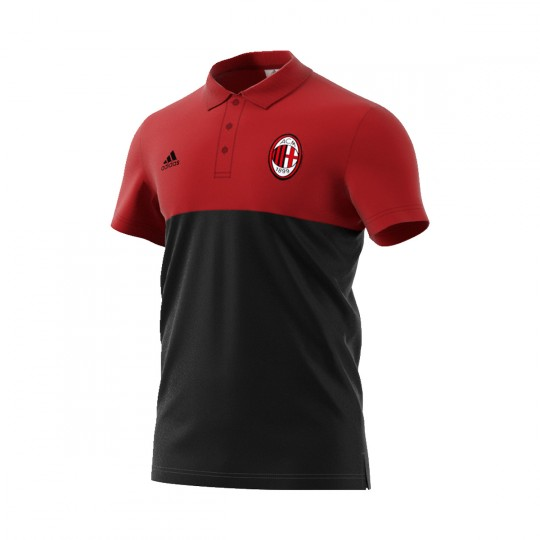 Polo  adidas AC Milan 2016-2017 Black-Granate