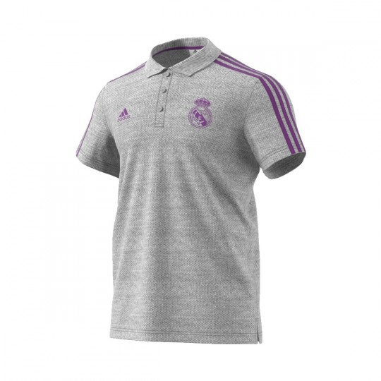 Polo  adidas Real Madrid 2016-2017 Solid grey
