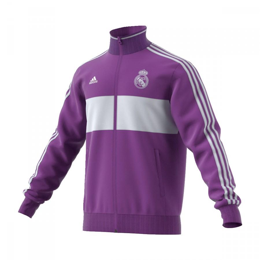 Sudadera adidas Real Madrid 3S Top 2016-2017 Ray purple-Crystal ... 47e9f37c47d