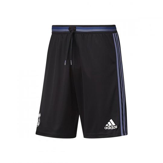 Pantalón corto  adidas Real Madrid Training 2016-2017 Black-Super purple