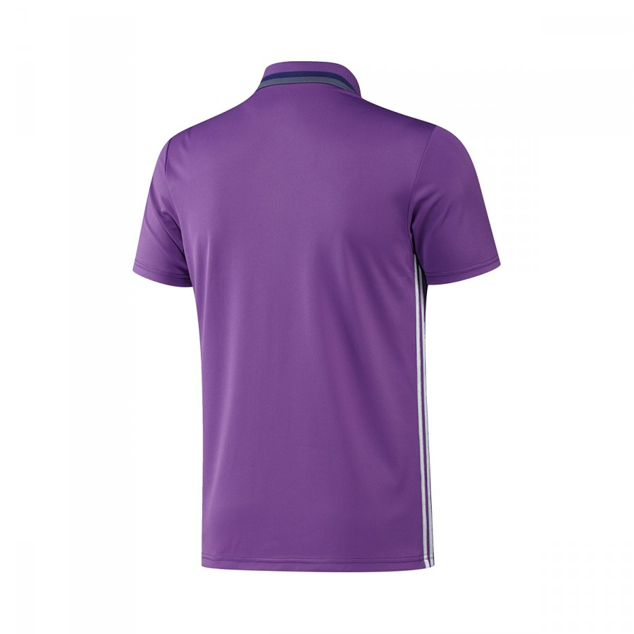 e47e1bb88 Polo shirt adidas Real Madrid CL 2016-2017 Ray purple-Crystal white ...