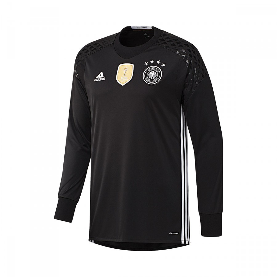 fc0593054e Camiseta adidas Selección Alemana Portero Primera Equipación Euro 2016 Niño  Black-White - Soloporteros es ahora Fútbol Emotion