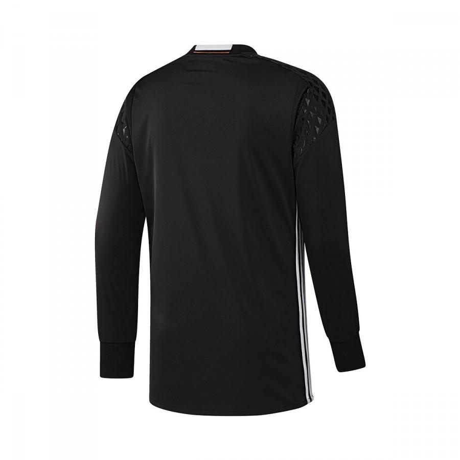 Camiseta adidas Selección Alemana Portero Primera Equipación Euro 2016 Niño  Black-White - Soloporteros es ahora Fútbol Emotion a5b2eb4aa821a