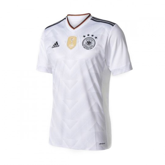 Camiseta  adidas jr Selección Alemania Home Euro 2016 Black-White
