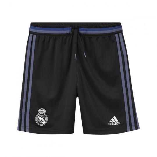 Pantalón corto  adidas jr Real Madrid 2016-2017 Black-Super purple s16
