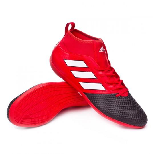 Zapatilla de fútbol sala  adidas Ace 17.3 Primemesh IN Red-White-Core black