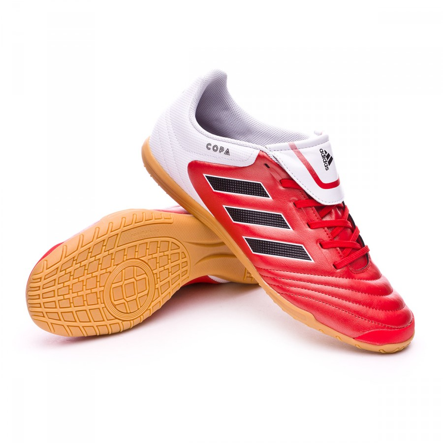 3a428fb3dcf76 Futsal Boot adidas Copa 17.4 IN Red-Core black-White - Football ...