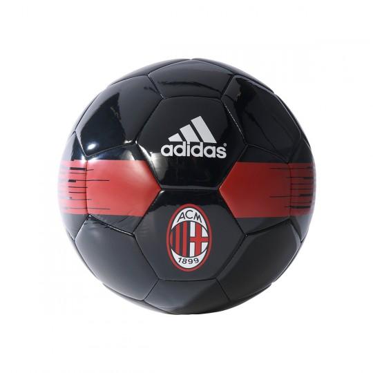 Bola de Futebol  adidas AC Milan 2016-2017 Black-Red-Gold