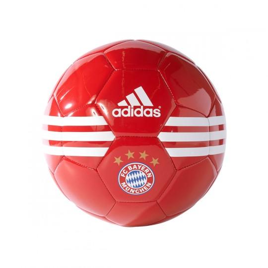 Bola de Futebol  adidas FC Bayern 2016-2017 Red-White