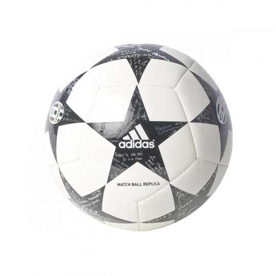 Balón  adidas Finale 16 Mini Juventus White-Black-Granite