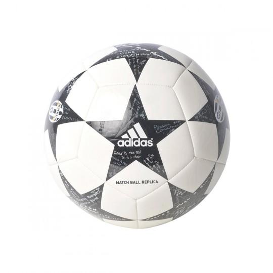 Bola de Futebol  adidas Finale 16 Mini Juventus White-Black-Granite