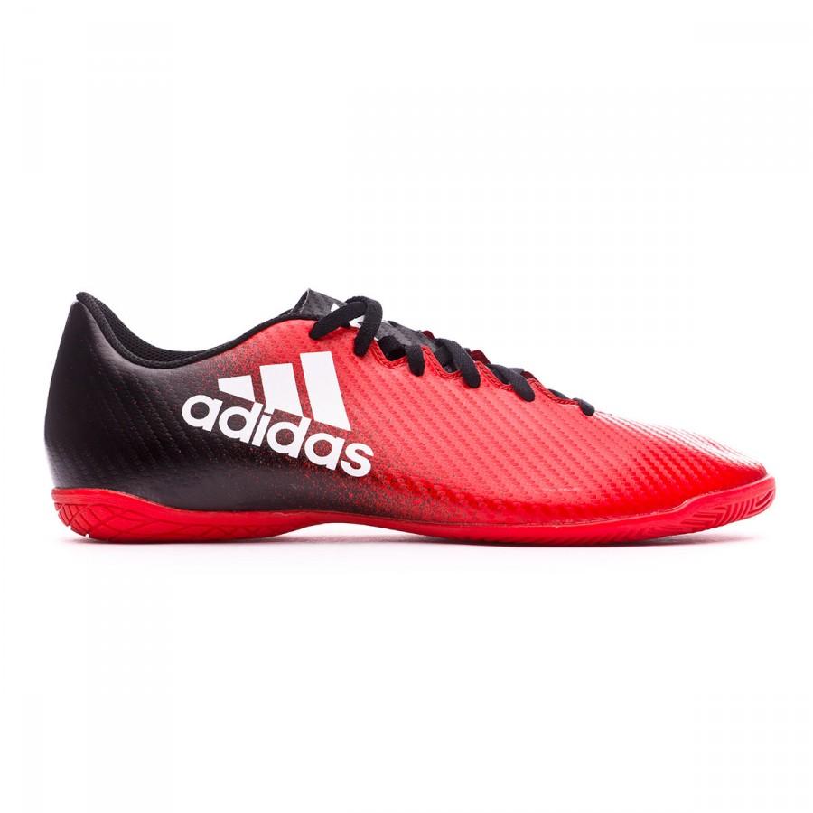 best sneakers 2fd82 f8936 Chaussure de futsal adidas X 16.4 IN Red-White-Core black - Boutique de  football Fútbol Emotion