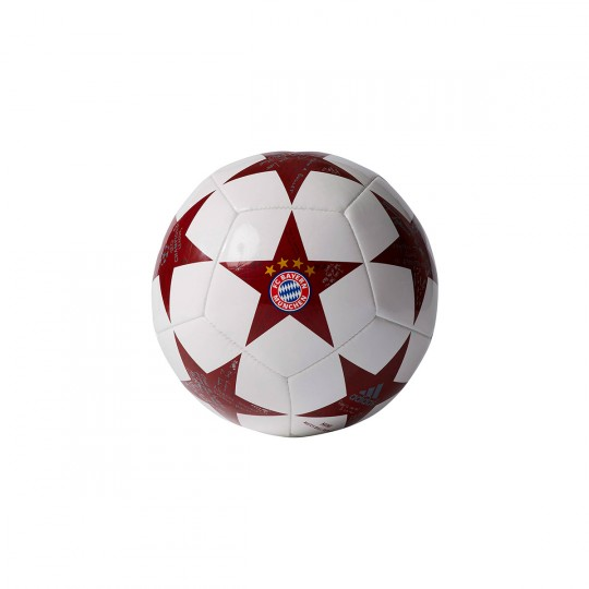 Bola de Futebol  adidas Finale 16 Mini FC Bayern White-Onix-Light onix