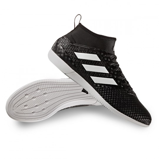 Zapatilla de fútbol sala  adidas Ace 17.3 Primemesh IN Core black-White-Night metallic