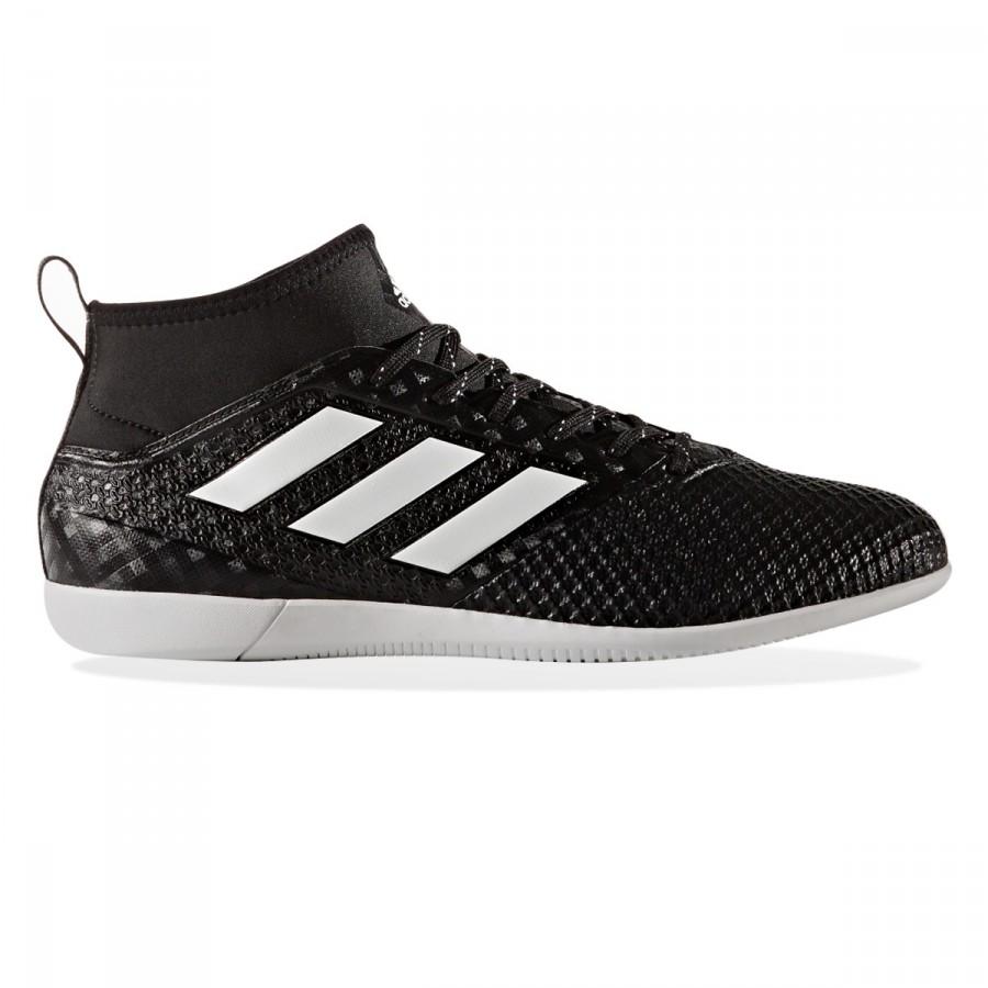 fbf1f0625 Futsal Boot adidas Ace 17.3 Primemesh IN Core black-White-Night metallic -  Football store Fútbol Emotion