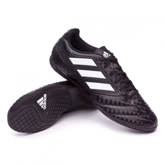 Zapatilla de fútbol sala  adidas Ace 17.4 IN Core black-White-Night metallic