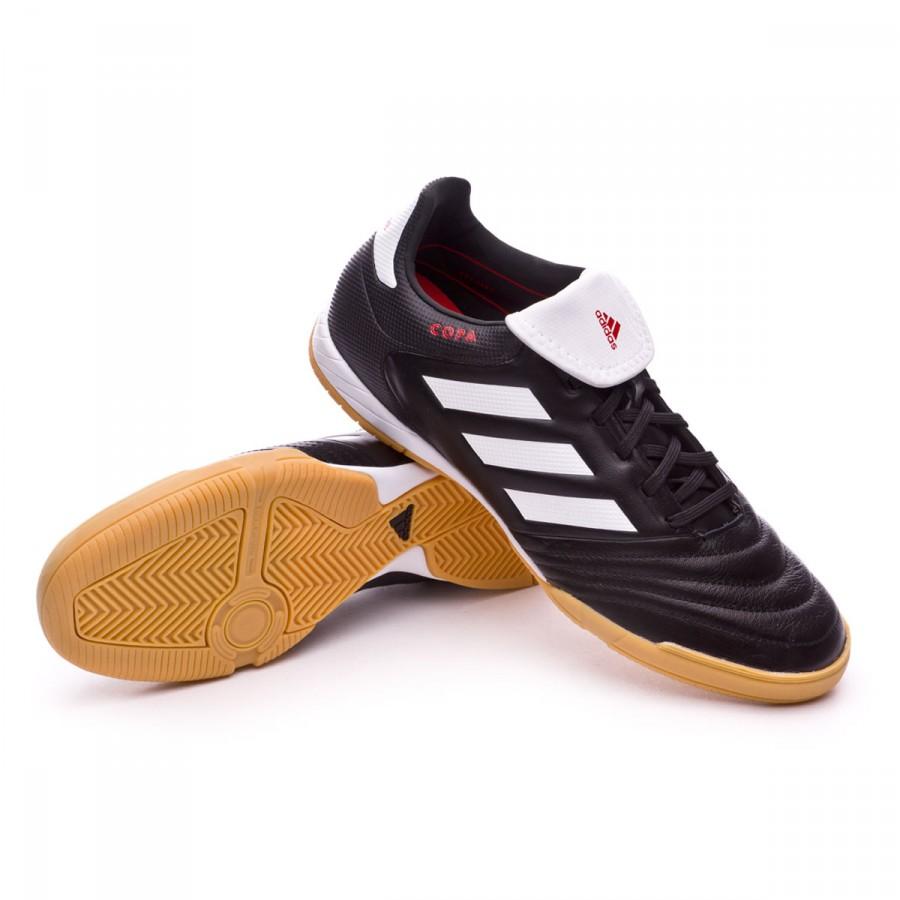 5a037c1b4e812 Futsal Boot adidas Copa 17.3 IN Core black-White-Core black ...